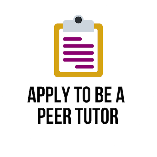 apply to be a peer tutor