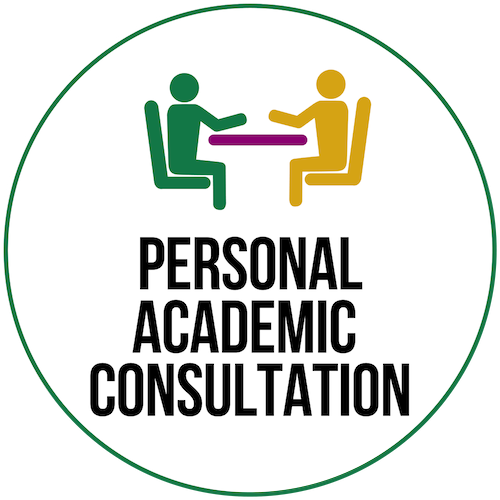 Click here for information about personal academic consultations